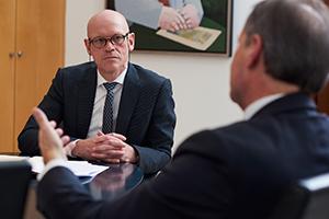 Business Fotograf Michael Miklas - Hamburg und Hannover - Foto Reportage in Braunschweig mit Oberbürgermeister Ulrich Markurth für die Thüga