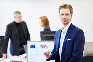 Corporate und Businessfotografie auf hohem Niveau. Manager, Geschäftsführer, Mitarbeiter Portraits